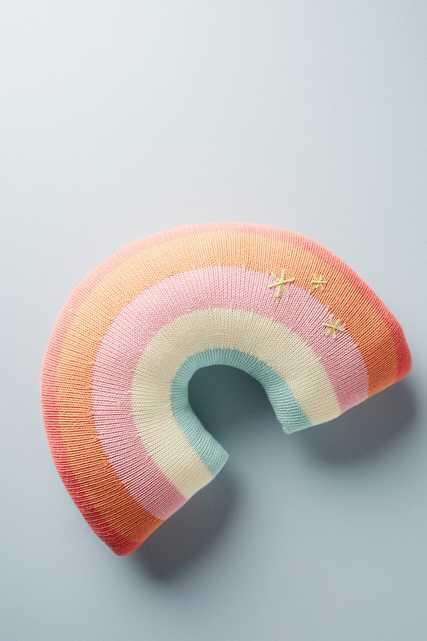 Rainbow Pillow - Anthropologie