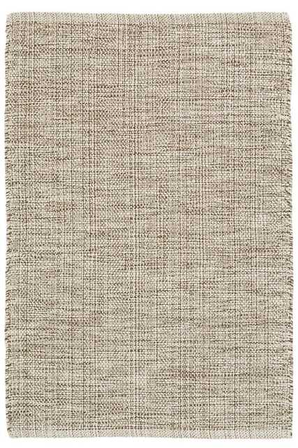 MARLED BROWN WOVEN COTTON RUG - 8' x 10' - Dash and Albert