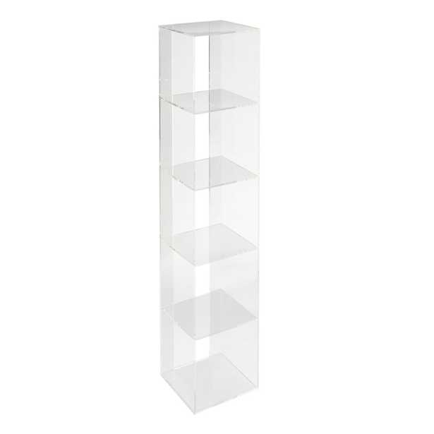 Acrylic Shelf Bookcase - Crate and Barrel