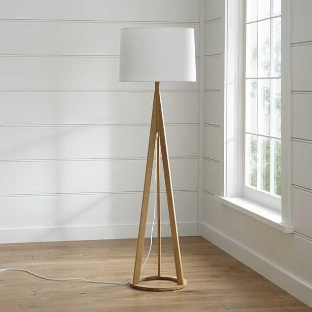 Jackson Floor Lamp, - Crate and Barrel
