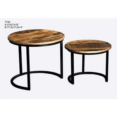 """""""Ouseman 2 Piece Nesting Tables"""" - Wayfair"""