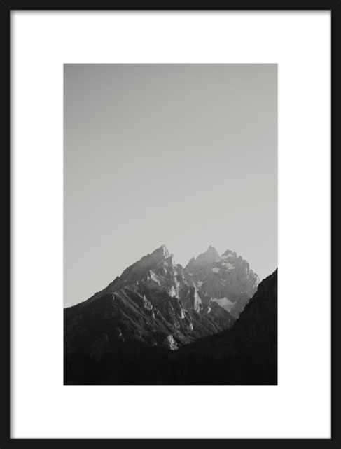 """Chasing Light by Catherine McDonald- 20"""" x 28""""- Contemporary Black wood frame - Artfully Walls"""