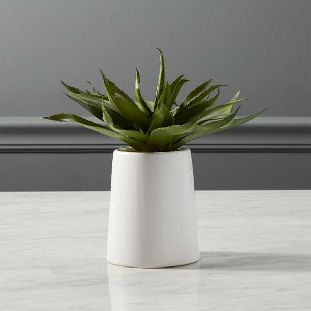 potted faux aloe - CB2