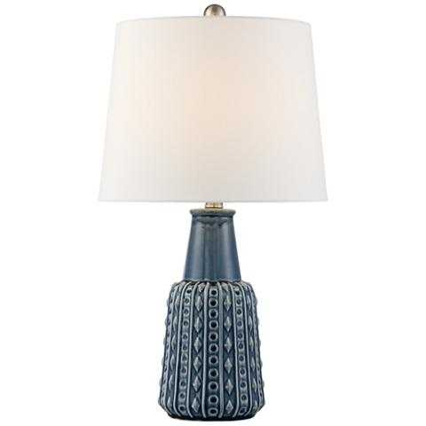 Shelly Ceramic Accent Table Lamp - Lamps Plus