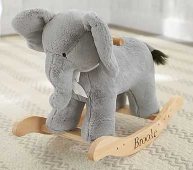 Elephant Plush Rocker - Pottery Barn Kids