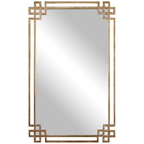 """Devoll Classical Gold 22"""" x 36 3/4"""" Rectangle Wall Mirror - Hudsonhill Foundry"""