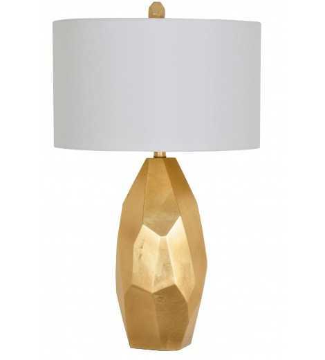 NICOLE TABLE LAMP, GOLD - Lulu and Georgia