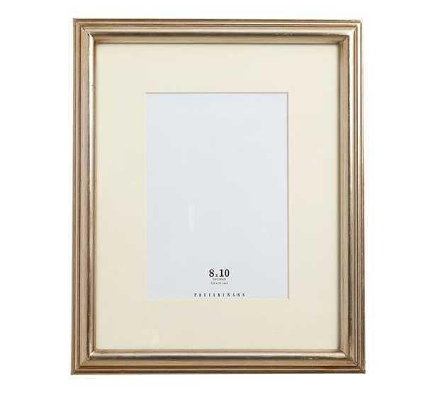 "Eliza Gilt Picture Frame, 8 x 10"" Medium Frame, Champagne Gilt finish - Pottery Barn"