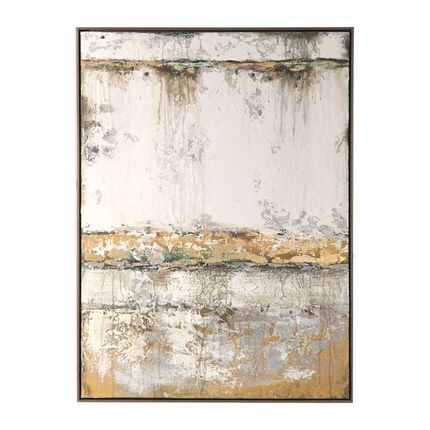 THE WALL HAND PAINTED CANVAS - Hudsonhill Foundry