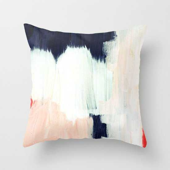"Black - Indoor Pillow - 20"" x 20"" - Polyfill - Society6"