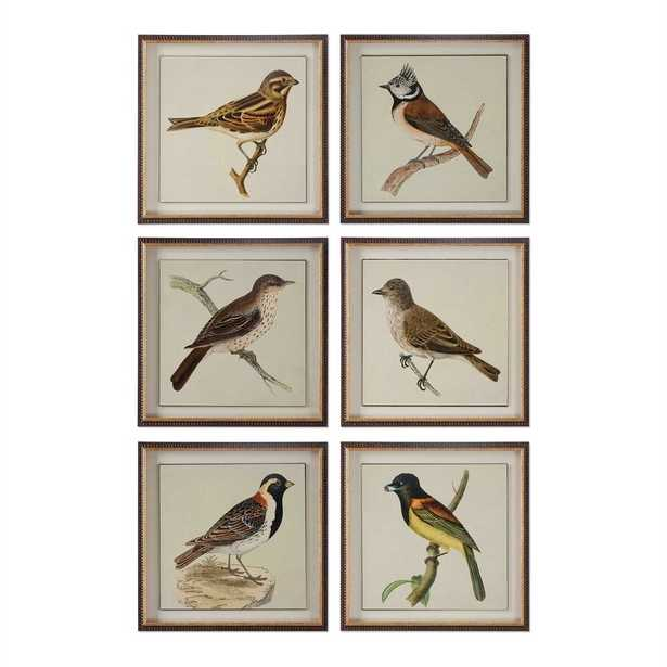 """Spring Soldiers Framed Prints, 15"""" x 15"""", Set of 6 - Hudsonhill Foundry"""