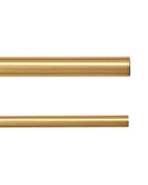 "Drapery Rod- Brass - 28"" - 48""  - 1.25 dia. - Ballard Designs"