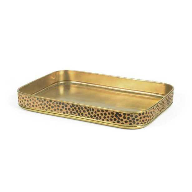 Leopard Edge Tray - Wayfair