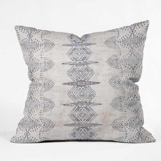 "FRENCH LINEN ERIS Outdoor Throw Pillow - 20"" x 20"" - Wander Print Co."