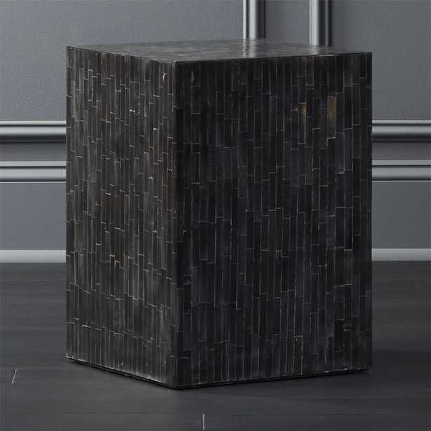 Quad Horn Inlay Side Table - CB2