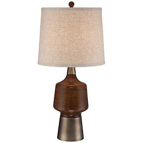 Northcrest Mid Century Table Lamp - Lamps Plus