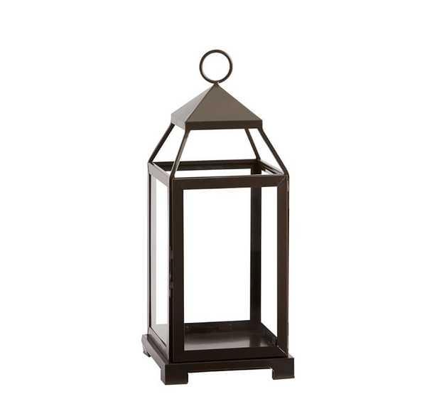 Malta Lantern - Bronze Finish, Medium - Pottery Barn