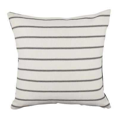 Ticking Stripe Fabric Throw Pillow - Wayfair