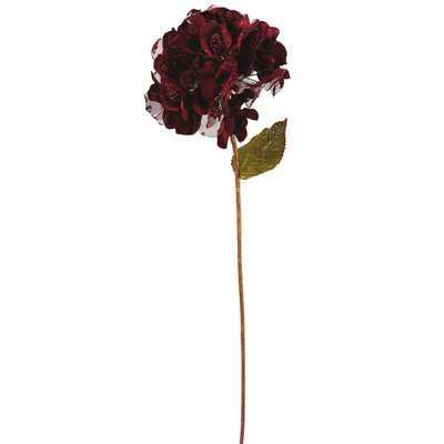 Velvet Hydrangea Flower - AllModern