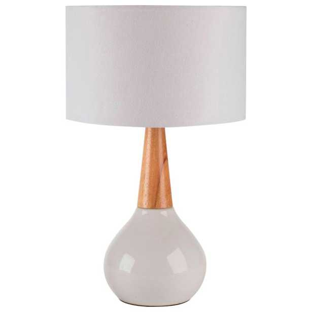 Artistic Weavers Edison 18.5 in. White Indoor Table Lamp - Home Depot