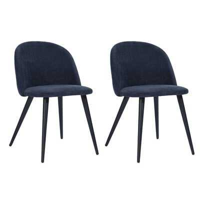 Witherspoon Upholstered Dining Chair (Set Of Two) - Wayfair