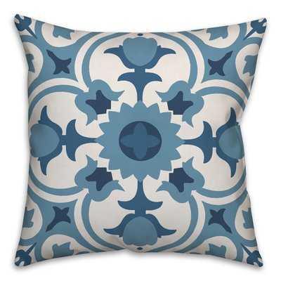 Mallett Tile Throw Pillow - Wayfair