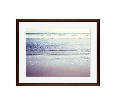 "Shore by Lupen Grainne, 16 x 20"", Wood Gallery, Espresso, Mat - Pottery Barn"