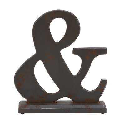 Wood Symbol Letter Block - Wayfair