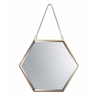 Eliana Hexagon Wall Mirror - Wayfair