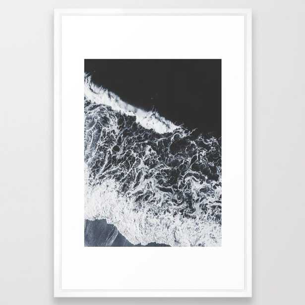 sea lace Framed Art Print by Ingz - Society6