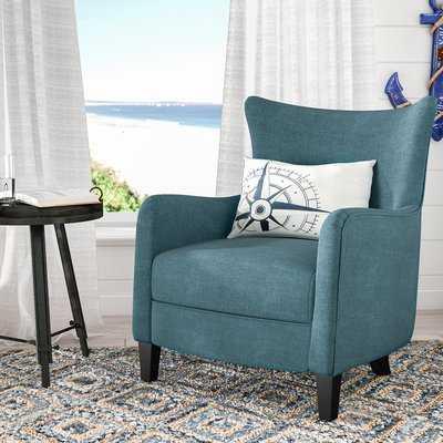 Nisha Fabric Club Chair - Wayfair