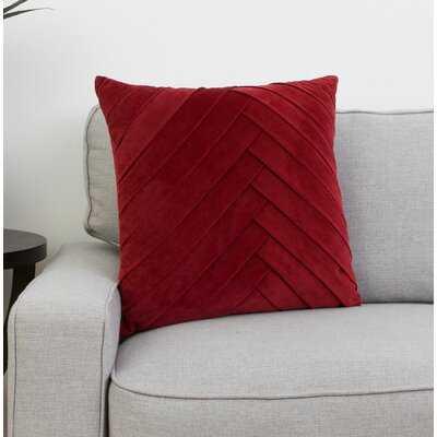West Bridgewater Velvet Throw Pillow - Wayfair