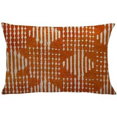 Octavius Mud Cloth Linen Lumbar Pillow - Wayfair