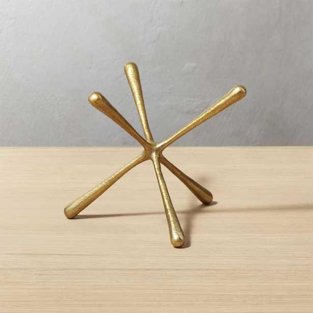 Adra Small Brass Decorative Object - CB2