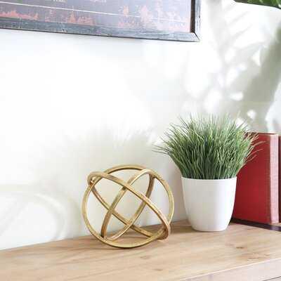 Dewalt Orb Dyson Sphere Sculpture - Birch Lane