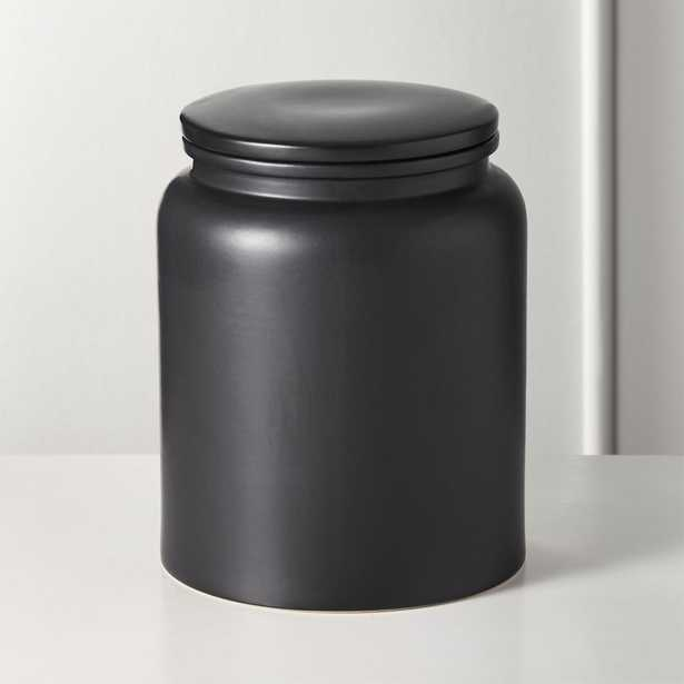 Prep Black Extra Large Canister - CB2