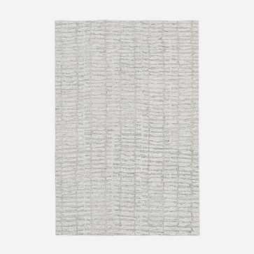 Icicle Rug, Ivory, 6'x9' - West Elm