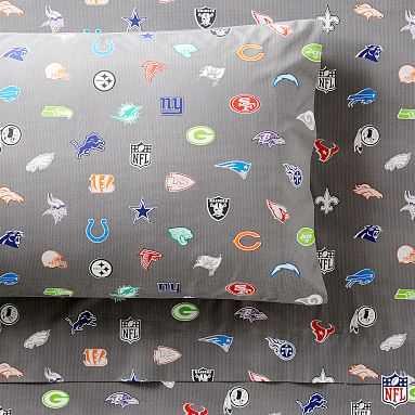 NFL(R) Bright Logo Sheet Set, Twin/Twin XL, Multi - Pottery Barn Teen