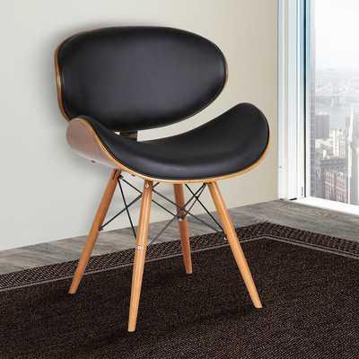 Zegna Side Chair, Black - Wayfair
