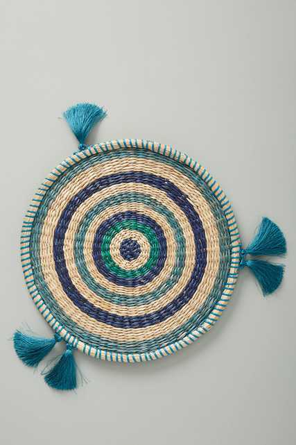 Rosa Woven Placemat - Anthropologie