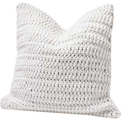 Woven Rope Cotton Pillow Cover - Wayfair