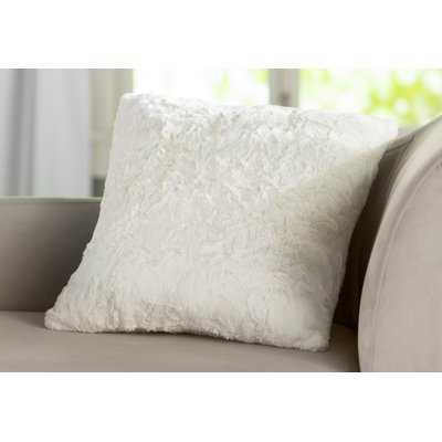 Patterson Faux Fur Throw Pillow - Wayfair