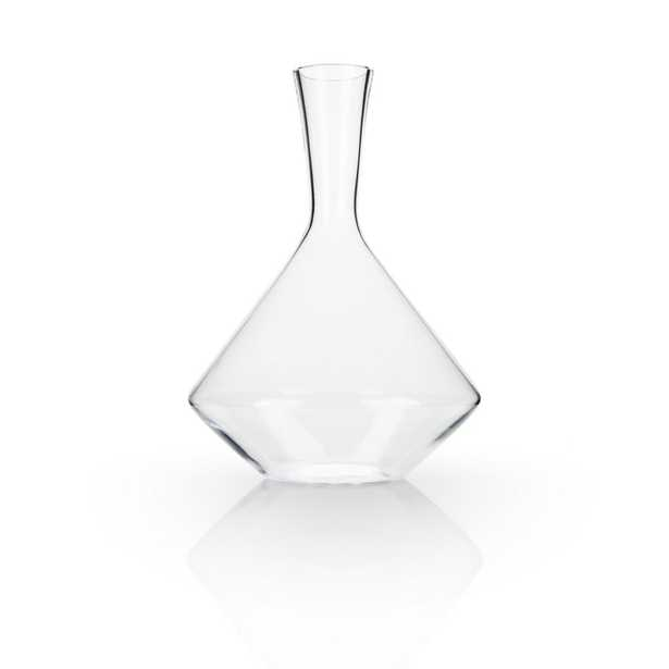 Angled Lead Free Cyrstal Decanter - Home Depot