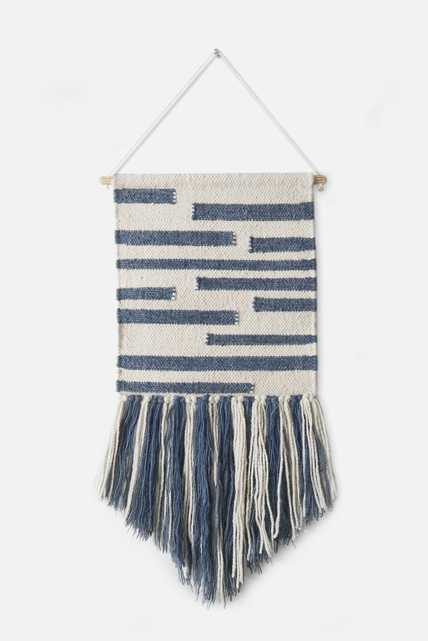 WALL HANGINGS - BLUE - Loma Threads