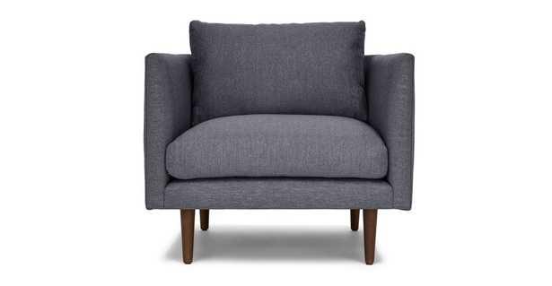 Burrard Stone Blue Chair - Article