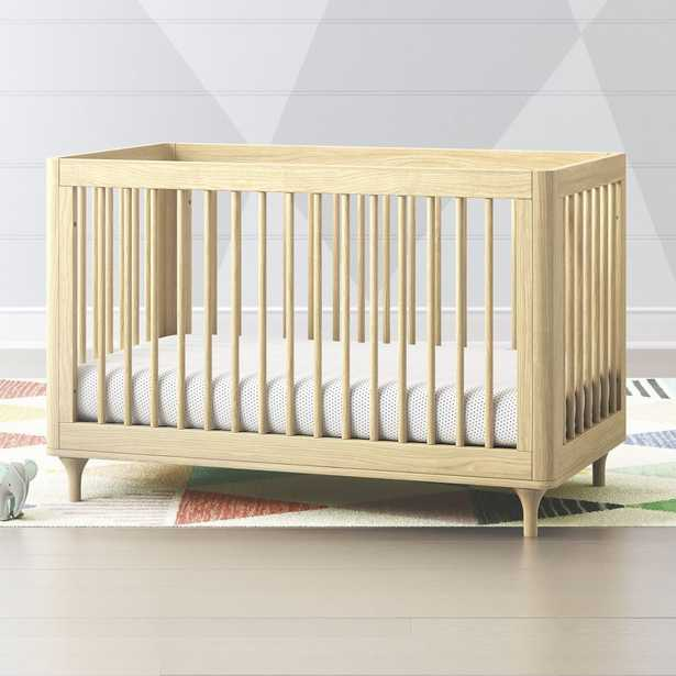 Babyletto Lolly Natural 3 in 1 Convertible Crib - Crate and Barrel