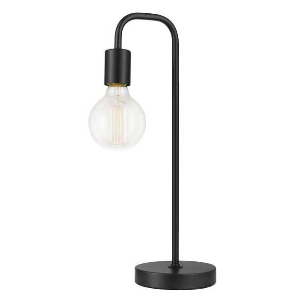 Globe Electric Holden 18 in. Black Table Lamp - Home Depot