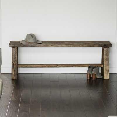 Ari Wood Bench - Wayfair
