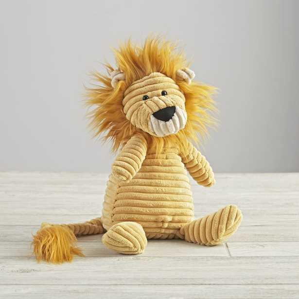 Jellycat ® Corduroy Lion Stuffed Animal - Crate and Barrel