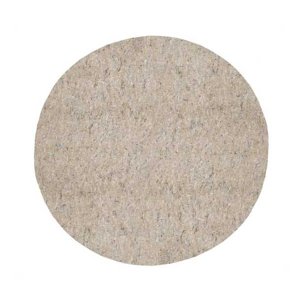 8 ft. x 8 ft. Dual Surface Round Rug Pad - Home Depot